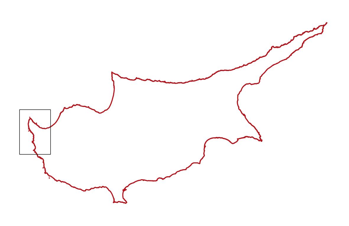 Zypern, Karte, Akamas