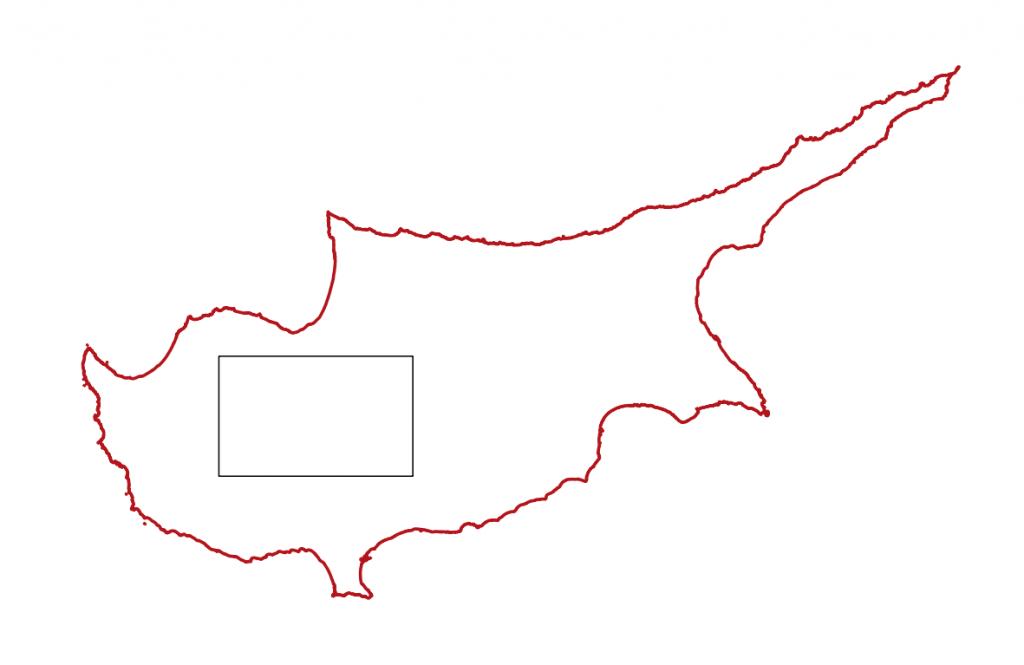 Zypern, Karte, Troodos