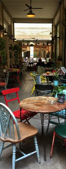 Nikosia, Lefkosia, Ledra, Pieto Cafe, Kaffee, Frappe, Mokka, Capuccino, Gasse, Demarkationslinie