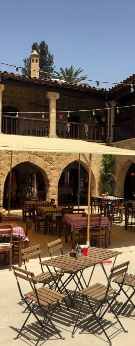 Nikosia, Nicosia, Lefkosia, Lefkosa, Büyük Han, Karawanserei, Gastronomie, Moschee